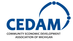 Community Economic Development Association of Michigan (CEDAM) logo